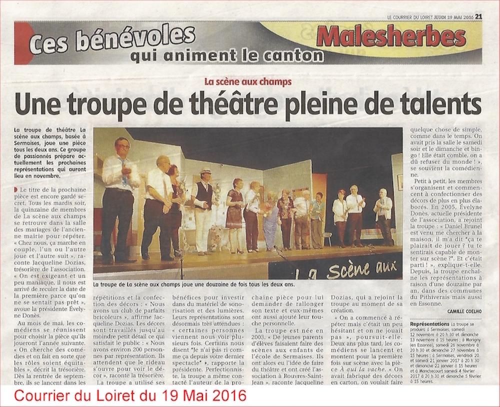 Courrier du Loiret du 19.05.2016 - Copie